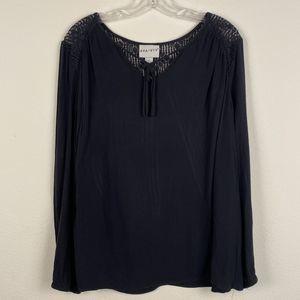 Ava & Viv Black Blouse Size 1X